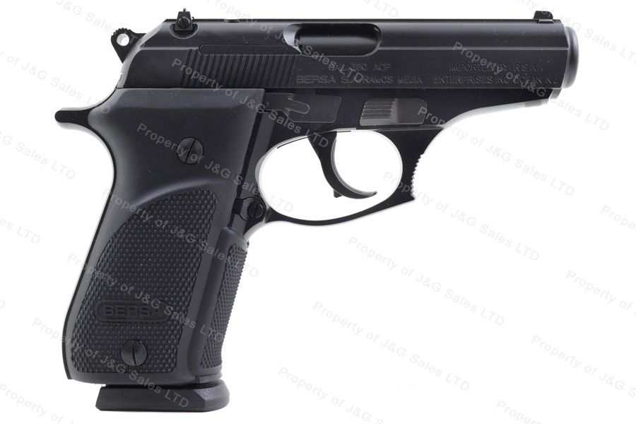 Bersa Thunder Plus 380 Semi Auto Pistol, 380ACP, Black, New.