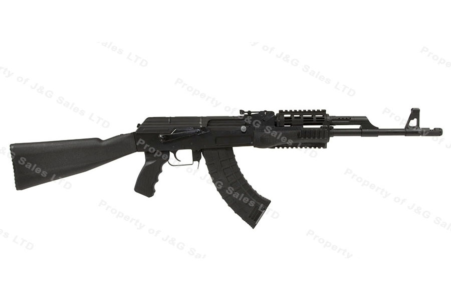 CAI Centurion 39 AK Style Rifle, 7.62x39, Milled Receiver, Black Synthetic Stock, USA Mfg, New.
