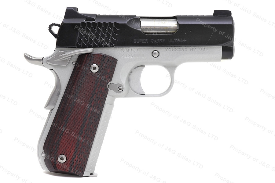 Kimber Super Carry Ultra+ Semi Auto Pistol, 45ACP, Bobtail, Excellent , Used..
