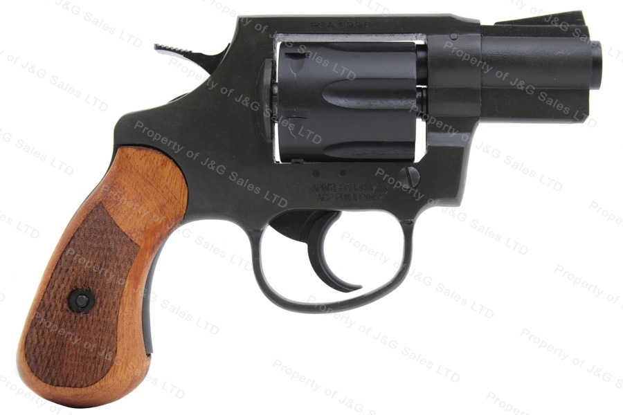 "Rock Island Armory M206 Revolver, 38 Special, 1 7/8"" Barrel Snub Nose, Parkerized, New."