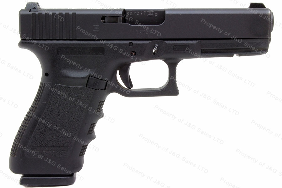 Glock 21SF 45ACP Short Frame Semi Auto Pistol, Night Sights, Very Good Plus Condition, Used.