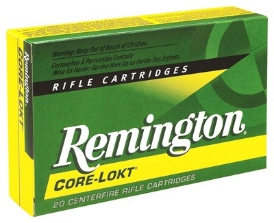 300 SAVAGE REM AMMO, 2630FPS 150GR CORE-LOKT PSP, 20RD BOX
