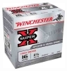 "16GA WIN AMMO SUPER-X, 2.75"" 1295FPS 1-1/8OZ #6, 25RD BOX"