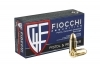 9mm Fiocchi 115gr FMJ, Brass Case Ammo, 1000rd Case.