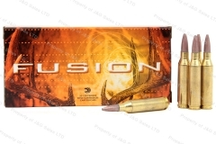 243 Win Federal Fusion 95gr Ammo, 20rd Box. F243FS1