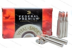 30-06 Federal Premium 180gr Nosler Partition Ammo, 20rd Box. P3006F