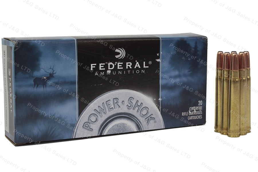 375 H&H Mag Federal 270gr SP Ammo, 20rd Box. 375A