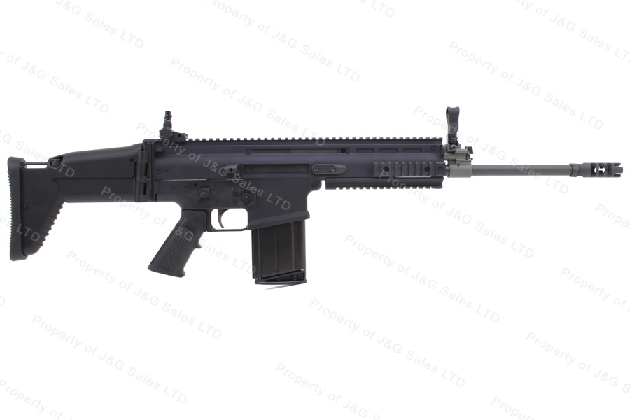 FN Herstal SCAR 17S Semi Auto Rifle, 308, Black, Folding Collapsing Stock, New.