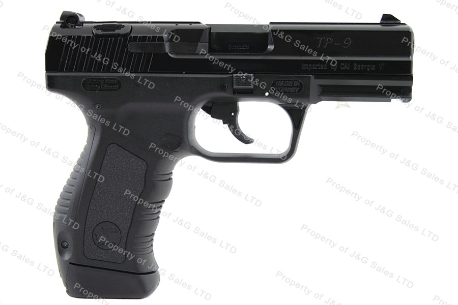 Canik 55 TP-9 9mm Semi Auto Pistol, Black, by CAI, New.