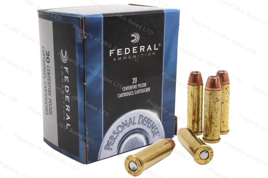 32 H&R Mag Federal 85gr JHP Ammo, 20rd box. C32HRB