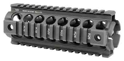 MIDWEST INDUSTRIES QUAD-RAIL FOREARM DROP IN FOR DPMS ORACLE LR-308