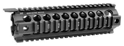 MIDWEST INDUSTRIES G2 QUAD-RAIL FOREARM DROP IN FOR MID LENGTH AR-15