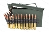 50 BMG Lake City Linked Ball & Tracer in Ammo Can, M33 661gr FMJ and M17 618gr Tracer 4+1 Belted.