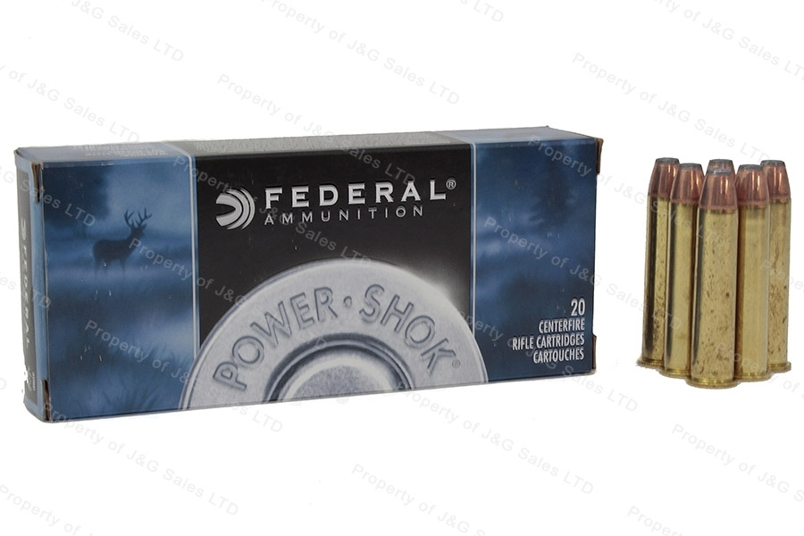 45-70 Govt Federal 300gr HPFN Ammo, 20rd Box. 4570AS