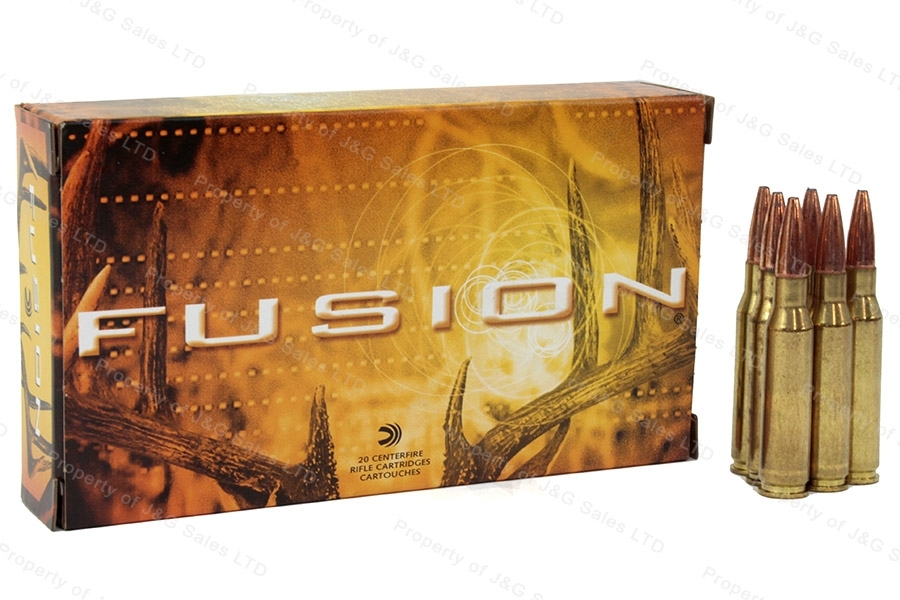 7mm-08 Rem Federal Fusion 140gr SP Ammo, 20rd Box. F708FS1