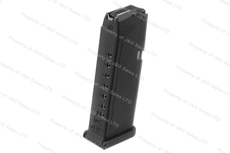 Glock 19 9mm 10rd Gen 4 Factory Magazine, Black, New.