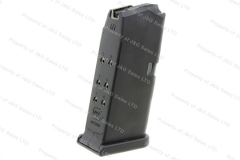 Glock 27 40S&W 9rd Factory Magazine, Black, Used.