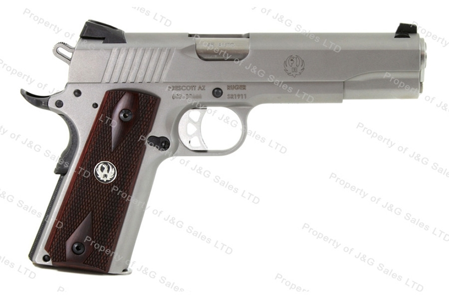 Ruger® SR1911® Semi Auto Pistol, 45ACP, 5'' Barrel, Stainless, New.