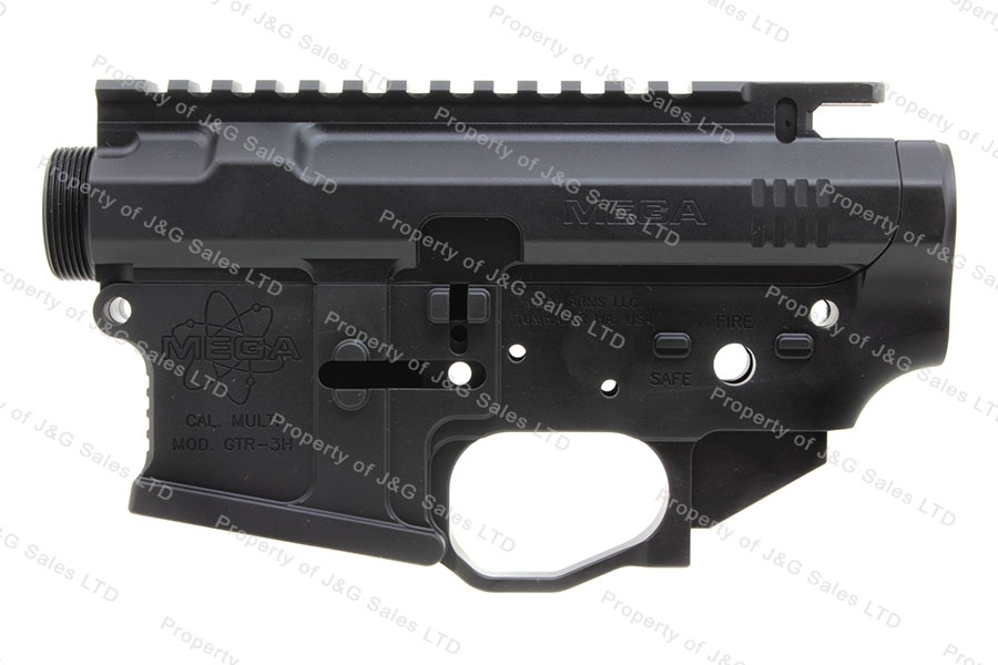 Mega Arms 223 (AR-15/GTR3H) Billet Upper & Lower Anodized Receiver Set, Anti-Rotation, New.