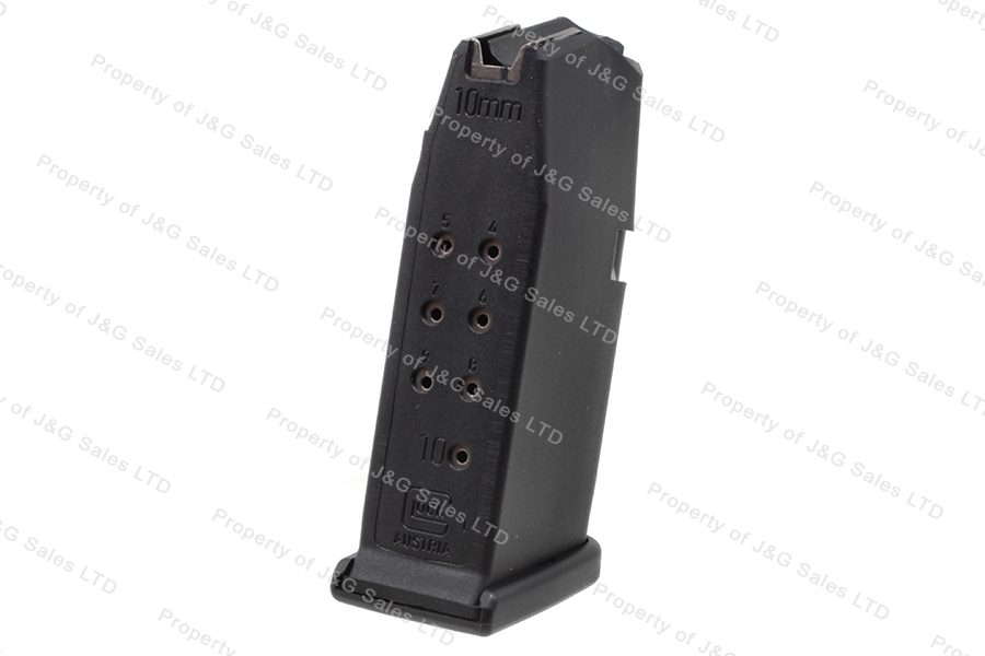 Glock 29 10mm 10rd Gen 4 Factory Magazine, Black, New.