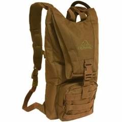 RED ROCK HYDRATION PACK W/2.5-LITER WATER BLADDER, TAN