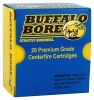 32 H&R MAG +P BUFFALO BORE AMMO, 1125FPS 130GR LEAD SWC, 20RD BOX