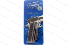 Kimber 1911 9mm 9rd Factory Magazine, Stainless, New.