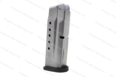 S&W M&P Shield 9mm 7rd Factory Magazine, Stainless, New.