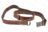 Military Leather Swede 96 Mauser Standard Sling, 1-Pc Model.