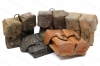 Military Surplus SKS Leather Double Ammo Pouch, Used.