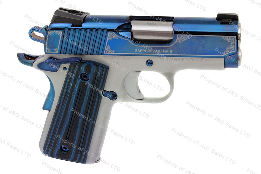 Kimber Sapphire Ultra Carry II Semi Auto Pistol, 9mm, Special Edition, New.