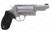 "Taurus Judge Revolver, 45LC/410ga, 3"" Barrel, Fiber Optic Front Sight, Stainless, New."