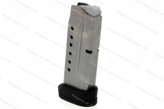 S&W M&P Shield 9mm 8rd Factory Magazine, Stainless, New.