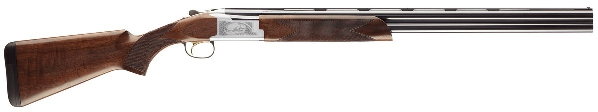 "BROWNING CITORI 725 FEATHER OVER/UNDER SHOTGUN, 3"" 20GA, 28"" VR BBL, SILVER, NEW"