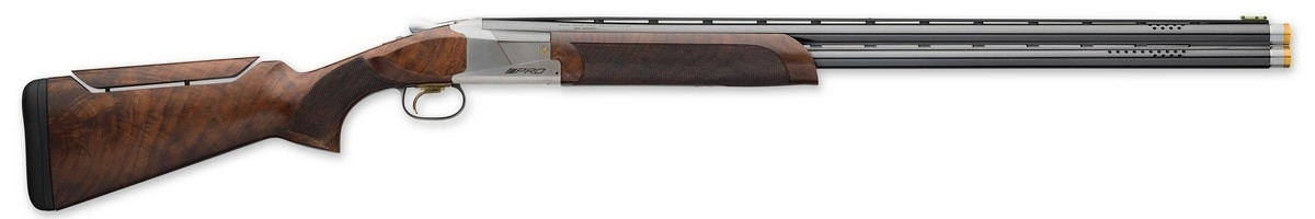 "BROWNING CITORI 725 PRO SPORT OVER/UNDER SHOTGUN, 2.75"" 20GA, 30"" VR BBL, SILVER, NEW"