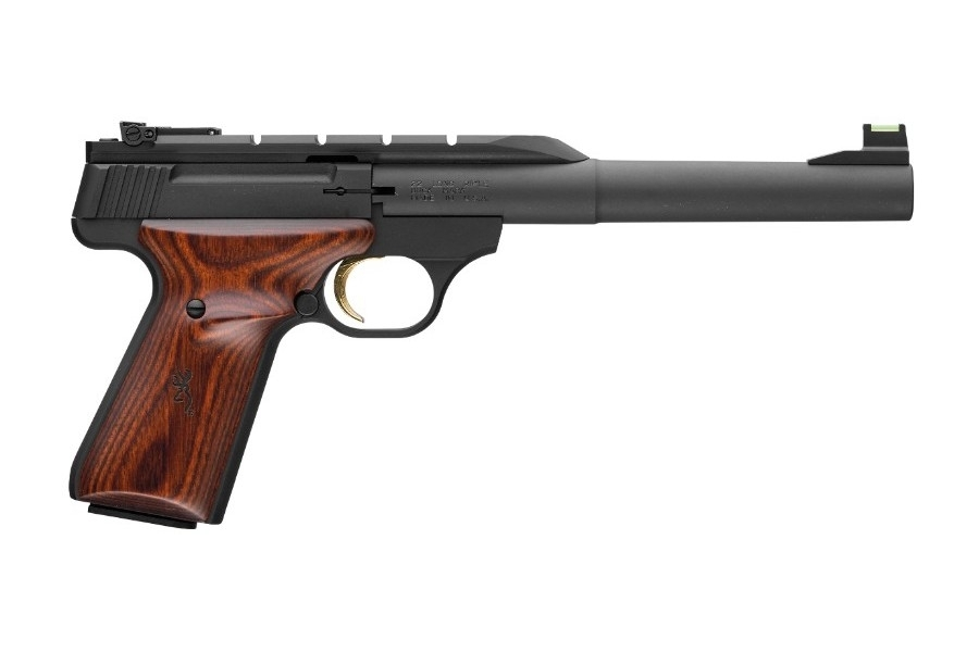 "BROWNING BUCK MARK HUNTER SEMI-AUTO PISTOL, .22LR, 7.25"" BBL, BLUED, NEW"