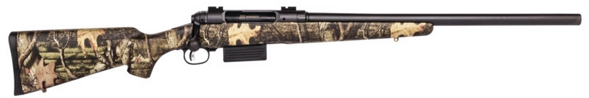 "SAVAGE 212 CAMO SLUG GUN BOLT ACTION SHOTGUN, 3"" 12GA, 22"" RIFLED BBL, 2RD MAG, BLUED, NEW"