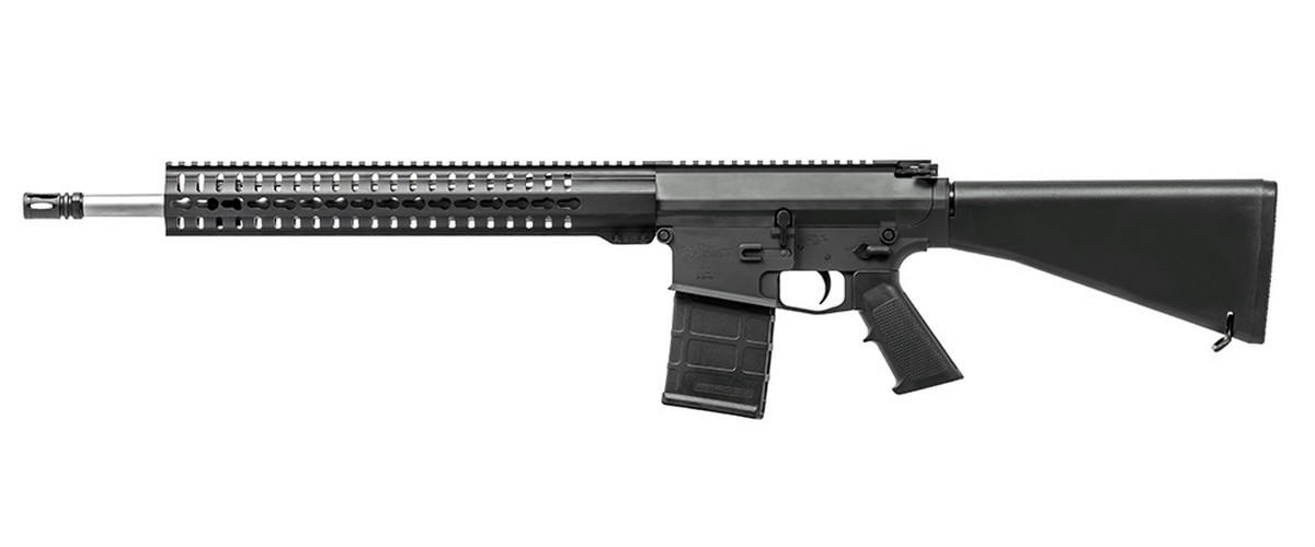 "CMMG MK3 SEMI-AUTO RIFLE, .308 WIN, 18"" HVY BBL, 20RD MAG, BLACK, NEW"