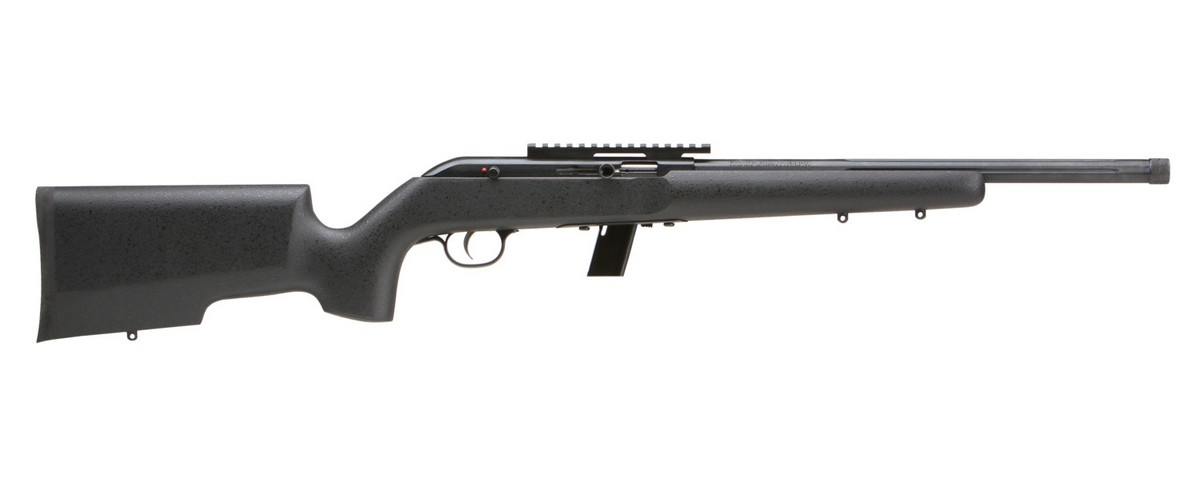 "SAVAGE 64 TR-SR SEMI-AUTO RIFLE, .22LR, 16.5"" THREADED BBL, 10RD MAG, BLACK, NEW"