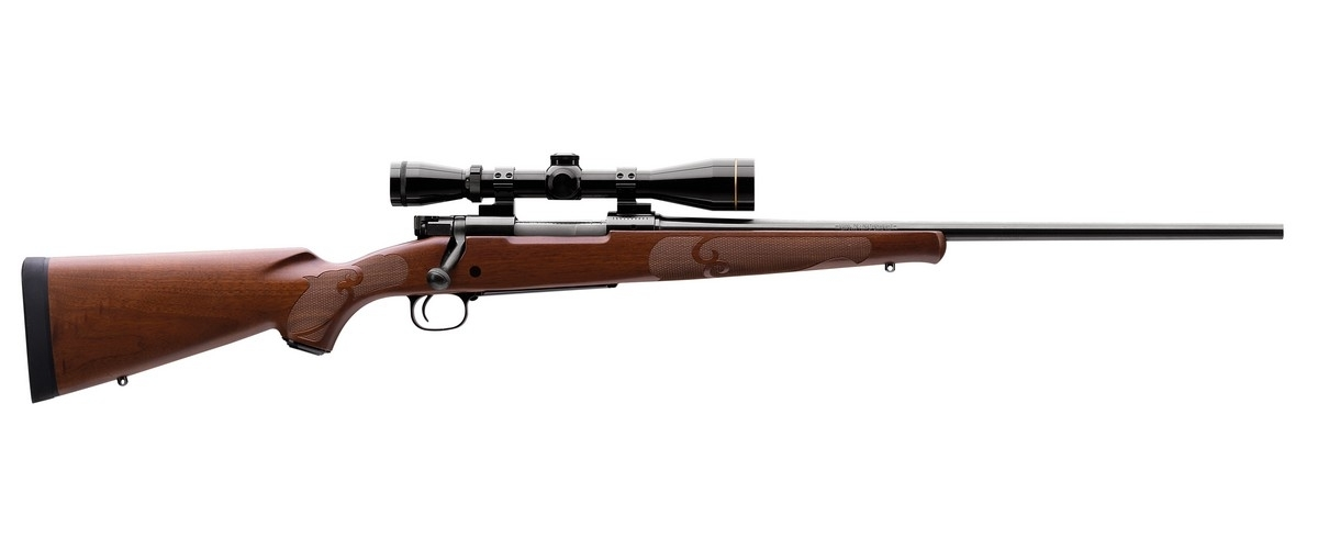 "WINCHESTER 70 FEATHERWEIGHT BOLT ACTION RIFLE, .243 WIN, 22"" BBL, 5RD MAG, BLUED, NEW"