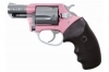"CHARTER ARMS PINK LADY DA/SA REVOLVER, .38SPL+P, 2"" BBL, PINK/STAINLESS, NEW"