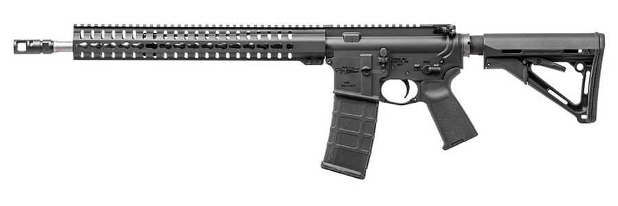 "CMMG MK4 RCE SEMI-AUTO RIFLE, .223 (5.56 NATO), 16.1"" BBL, 30RD MAG, BLACK, NEW"