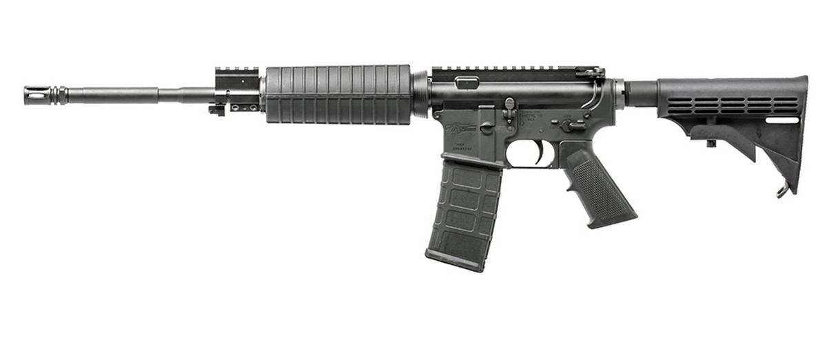 "CMMG MK4LE OR SEMI-AUTO RIFLE, .223 (5.56 NATO), 16.1"" BBL, 30RD MAG, BLACK, NEW"
