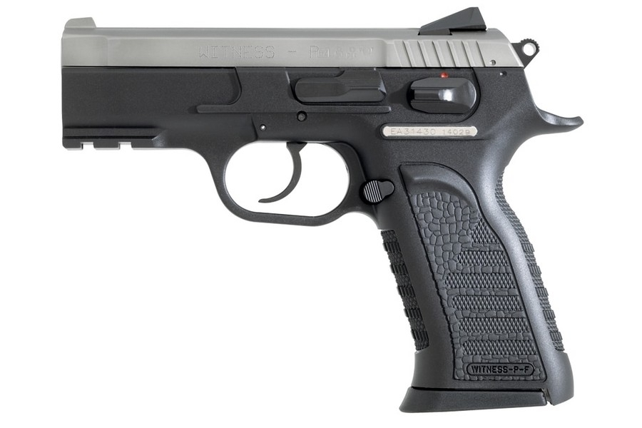 "EAA WITNESS CARRY POLYMER DA/SA SEMI-AUTO PISTOL, 9MM, 3.6"" BBL, 17RD MAG, TWO-TONE, NEW"