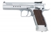 "EAA WITNESS ELITE LIMITED SA SEMI-AUTO PISTOL, .45ACP, 4.75"" BBL, 10RD MAG, CHROME, NEW"