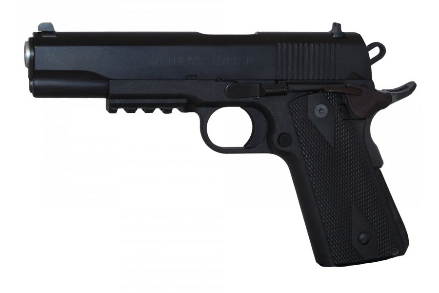 "EAA WITNESS ELITE 1911P SA SEMI-AUTO PISTOL, .45ACP, 5"" BBL, 8RD MAG, BLACK, NEW"