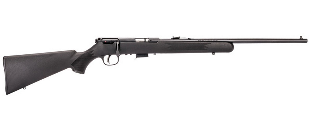"SAVAGE 93 F BOLT ACTION RIFLE, .22WMR (.22 MAG), 21"" BBL, 5RD MAG, BLUED, NEW"