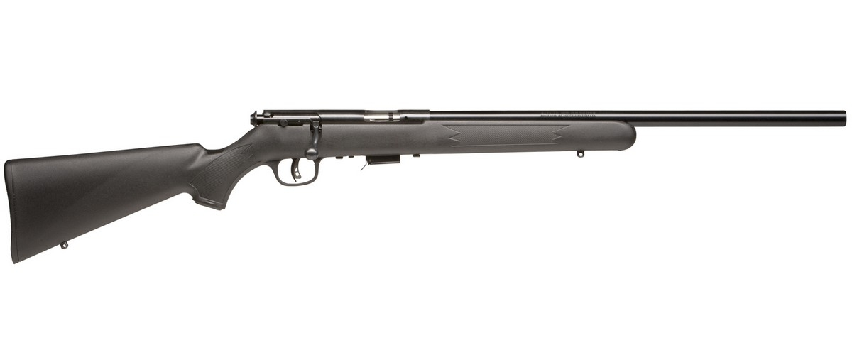 "SAVAGE 93R17 FV BOLT ACTION RIFLE, .17HMR, 21"" HVY BBL, 5RD MAG, BLUED, NEW"