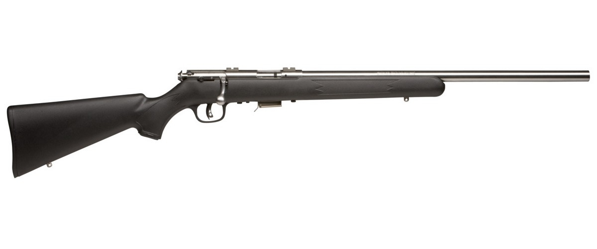 "SAVAGE 93R17 FVSS BOLT ACTION RIFLE, .17HMR, 21"" HVY BBL, 5RD MAG, STAINLESS, NEW"