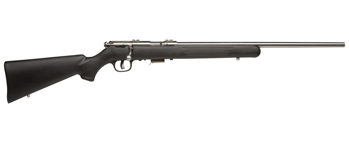 "SAVAGE 93R17 FSS BOLT ACTION RIFLE, .17HMR, 21"" BBL, 5RD MAG, STAINLESS, NEW"